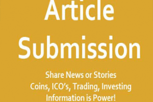 Submit Cryptocurrency Article