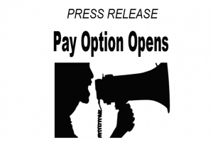 Press Release DNotes Pay Option Opens