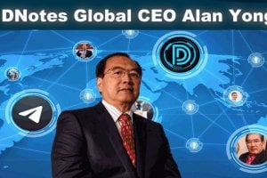 DNotes Global CEO Alan Yong