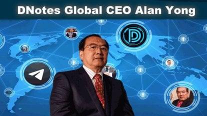 DNotes Global CEO Alan Yong