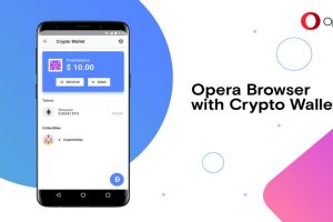 opera built-in crypto wallet